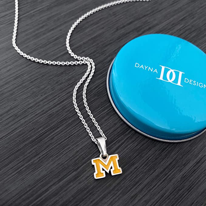 Sterling Silver Jewelry Small for Women//Girls Dayna Designs Gymnastics Pendant Necklace