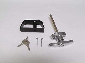 Shed Door T-handle Lock Set 4-1/2\