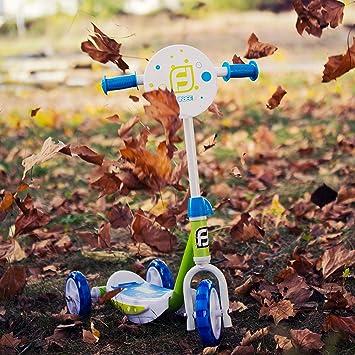 Amazon.com: Funbee - Patinete de tres ruedas para niños con ...