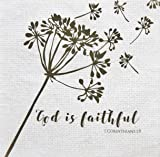 Pearls of Parchment Scripture Paper Napkins 20 Count 3-ply God is  sc 1 st  Amazon.com & Amazon.com: Give Thanks to the Lord Scripture Dinnerware Bundle - 3 ...