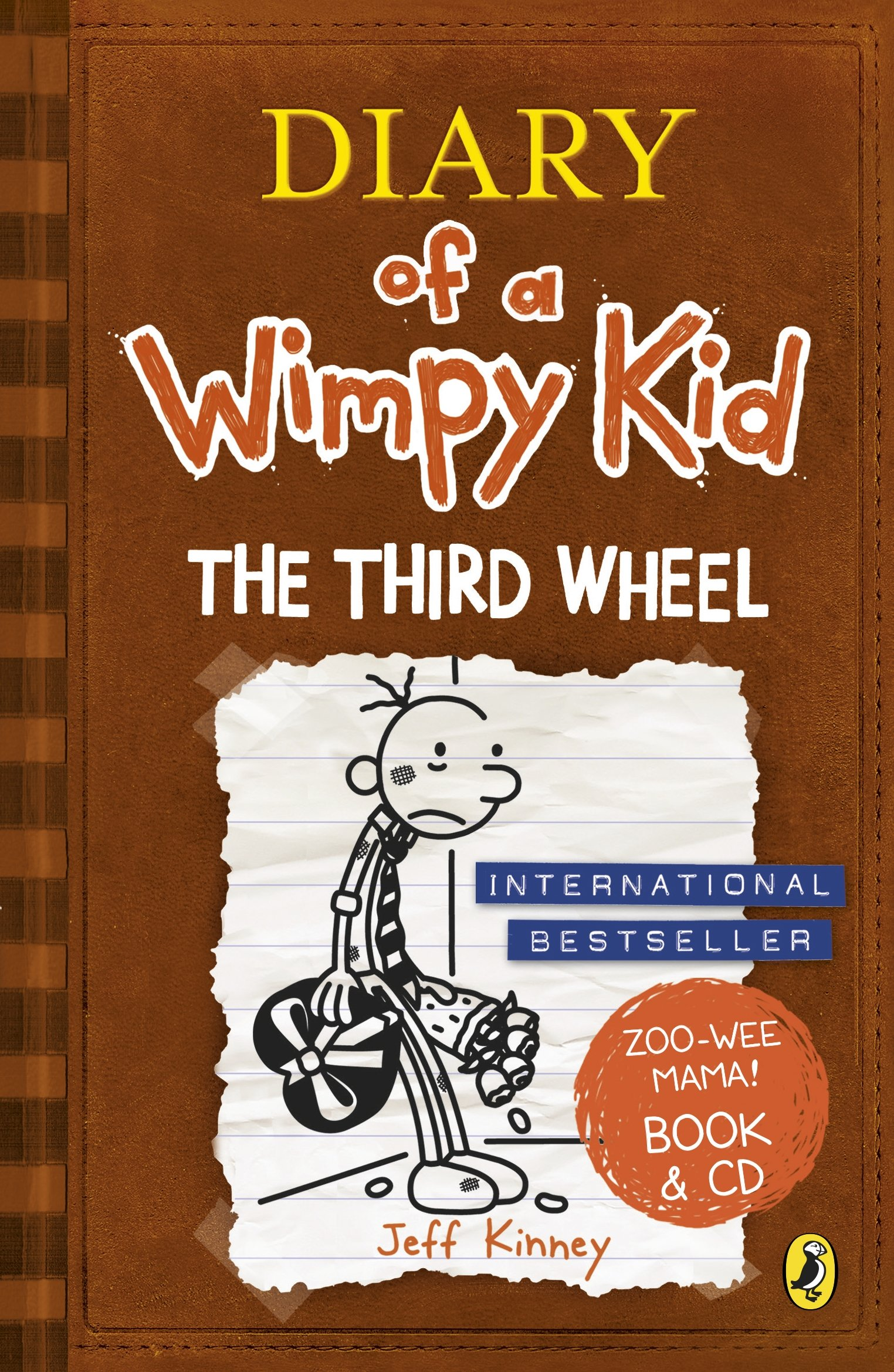 Diary Wimpy Kid Third Wheel product image