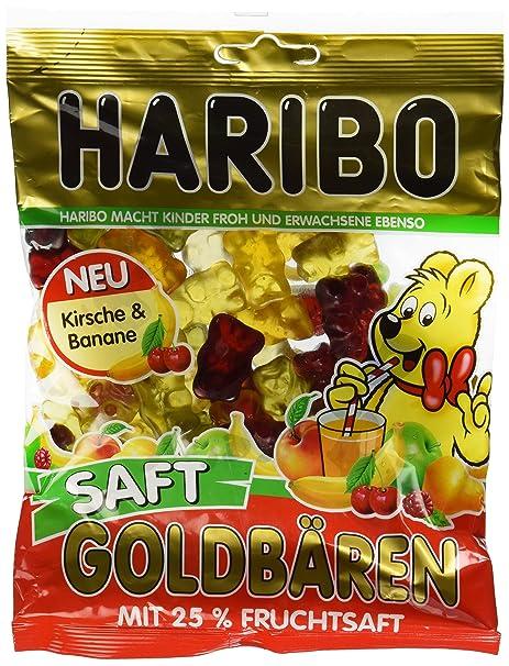 Haribo Saft Osos Dorados, Ositos de Goma, Gominolas, Gomitas ...