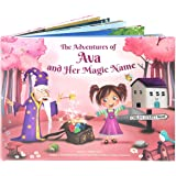 Personalized Picture Story Book for Kids - A Unique Story Based on the Letters of a Child's Name