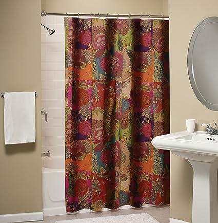 Superbe Greenland Home Jewel Shower Curtain