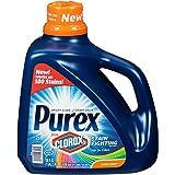 Purex Liquid Laundry Detergent plus Clorox2 Stain Fighting Enzymes, Sunny Linen, 128 oz (71 loads)