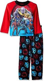 Multicolored Marvel Avengers Boys 3-Piece Pajama Set