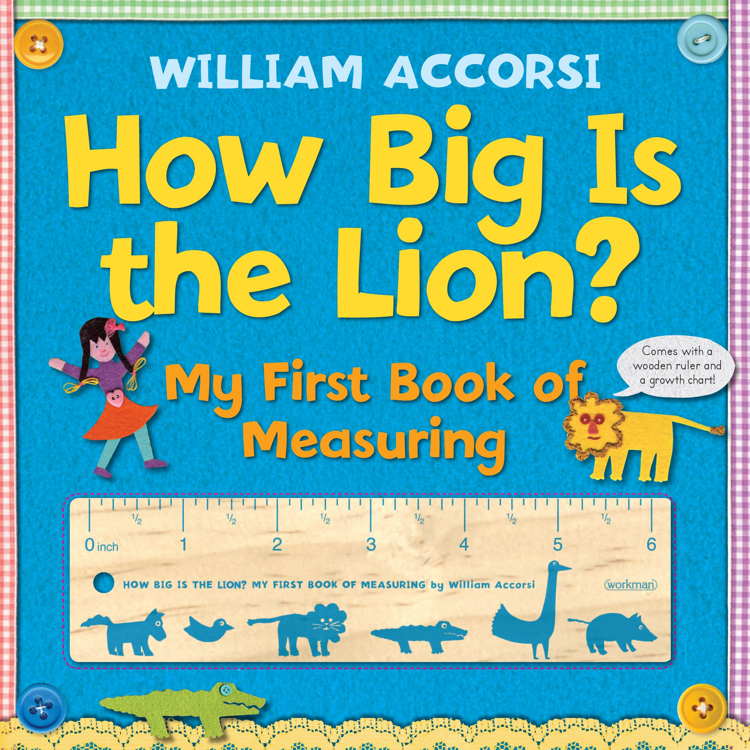 How Big Is the Lion?: My First Book of Measuring pdf