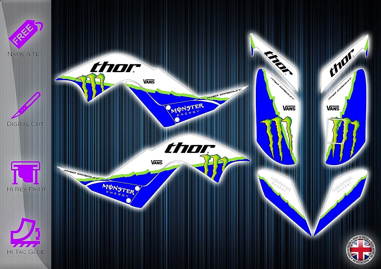 Graphik-Set Yamaha Raptor 700 Aufkleber Aufkleber YFM 700 ATV