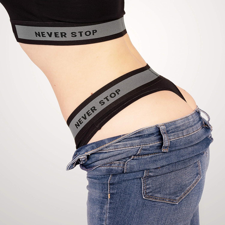 STARTER Core Damen String 95/% Baumwolle 6er Pack Ohne kratzendes Etikett