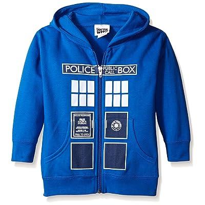 Doctor Who Boys' Police Box Hoodie