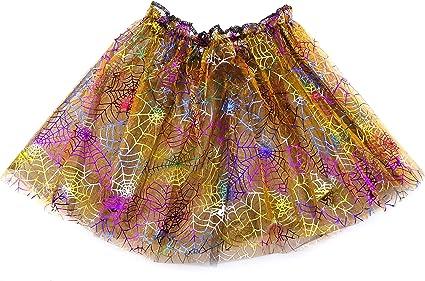 Falda tutú de 30 cm de largo con purpurina naranja para disfraz de ...