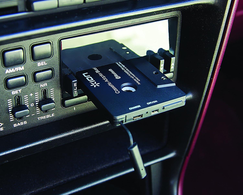 Transmisor de audio Bluetooth para reproductores de cassette y manos libres incorporadas para llamadas ION Audio Bluetooth Cassette Adapter