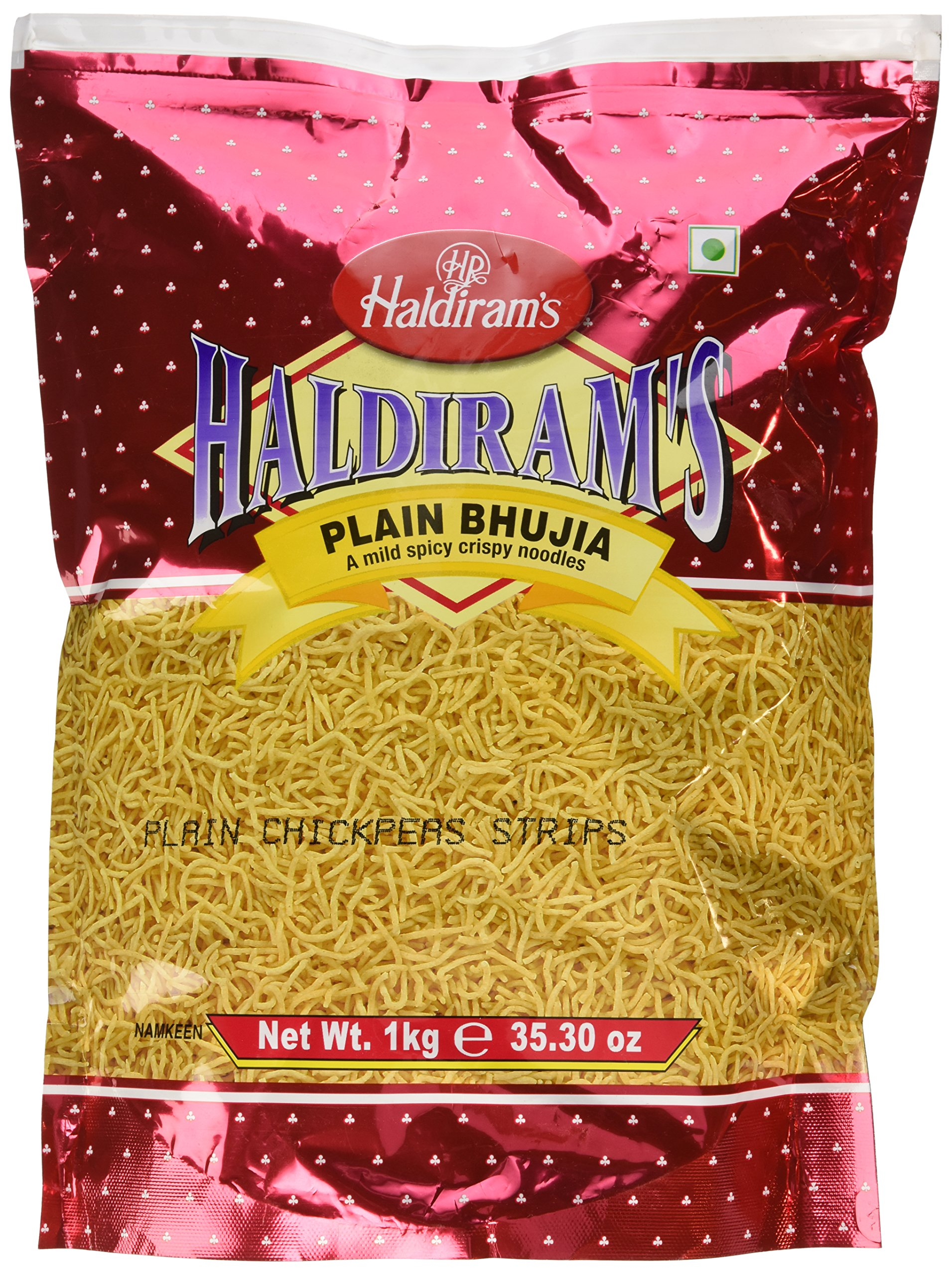Haldiram's plain bhujia 35.30 oz by Haldiram