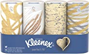 Kleenex Perfect Fit Facial Tissues, 4 Pack, 50 Tissues per pack (200 Count Total)