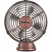 Holmes Heritage 4-inch Mini USB Desk Fan