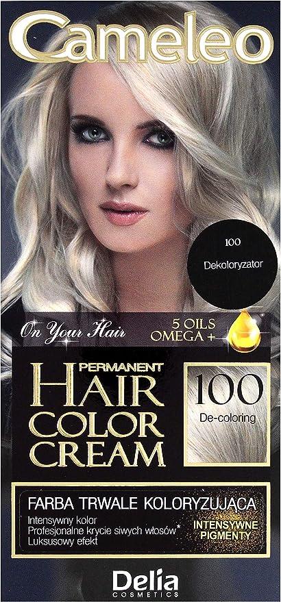 cameleo 100 decolo Anillo Cream Color del pelo Eliminador 100