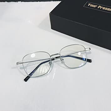 VVIIYJ Brille Weiblich Transparent Sonnenbrille Sonnenbrille Uv Schutz ,Schwarz Rahmen Transparent Film