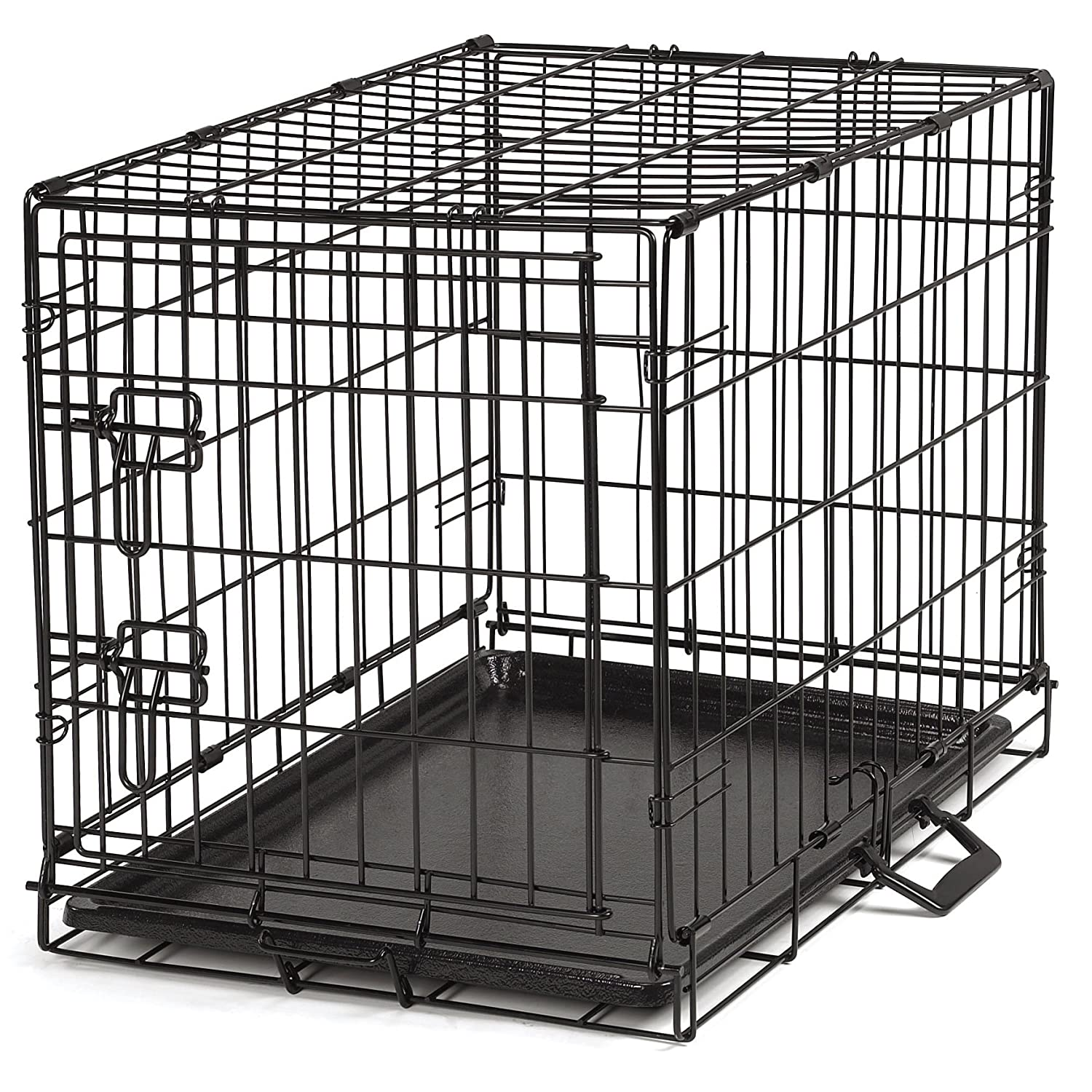 Amazon.com : ProSelect Easy Dog Crates for Dogs and Pets - Black ...