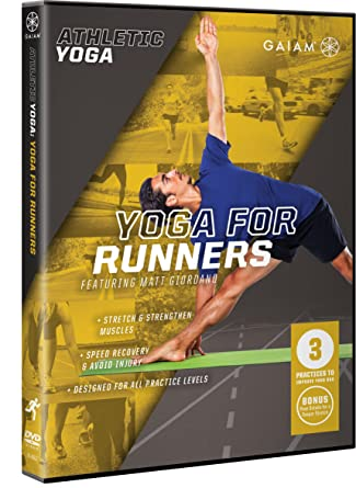 Athletic Yoga: Yoga for Runners [USA] [DVD]: Amazon.es: Matt ...