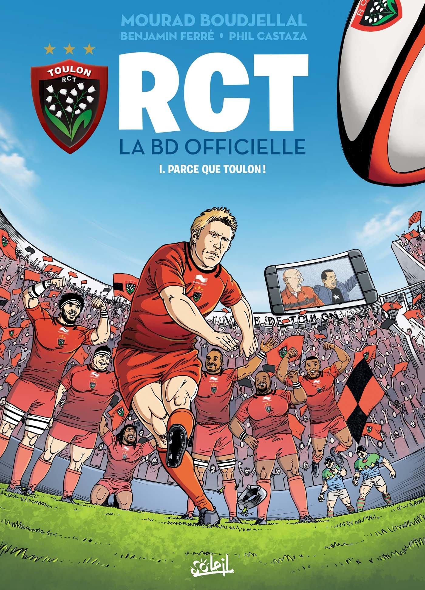 Amazon.fr - RCT 01: Parce que Toulon ! - Mourad Boudjellal, Benjamin Ferré,  Pascal Nino, Castaza - Livres