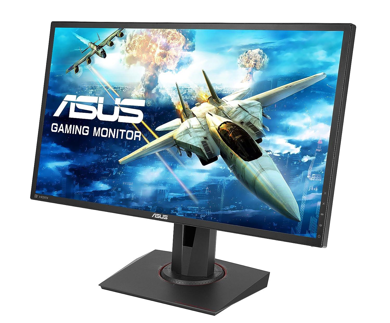 ASUS MG248Q 24 inch Gaming Monitor (FHD, 1920 x 1080, 1 ms, up to 144 Hz,  DP, HDMI, DVI-D, Adaptive-Sync) - Black