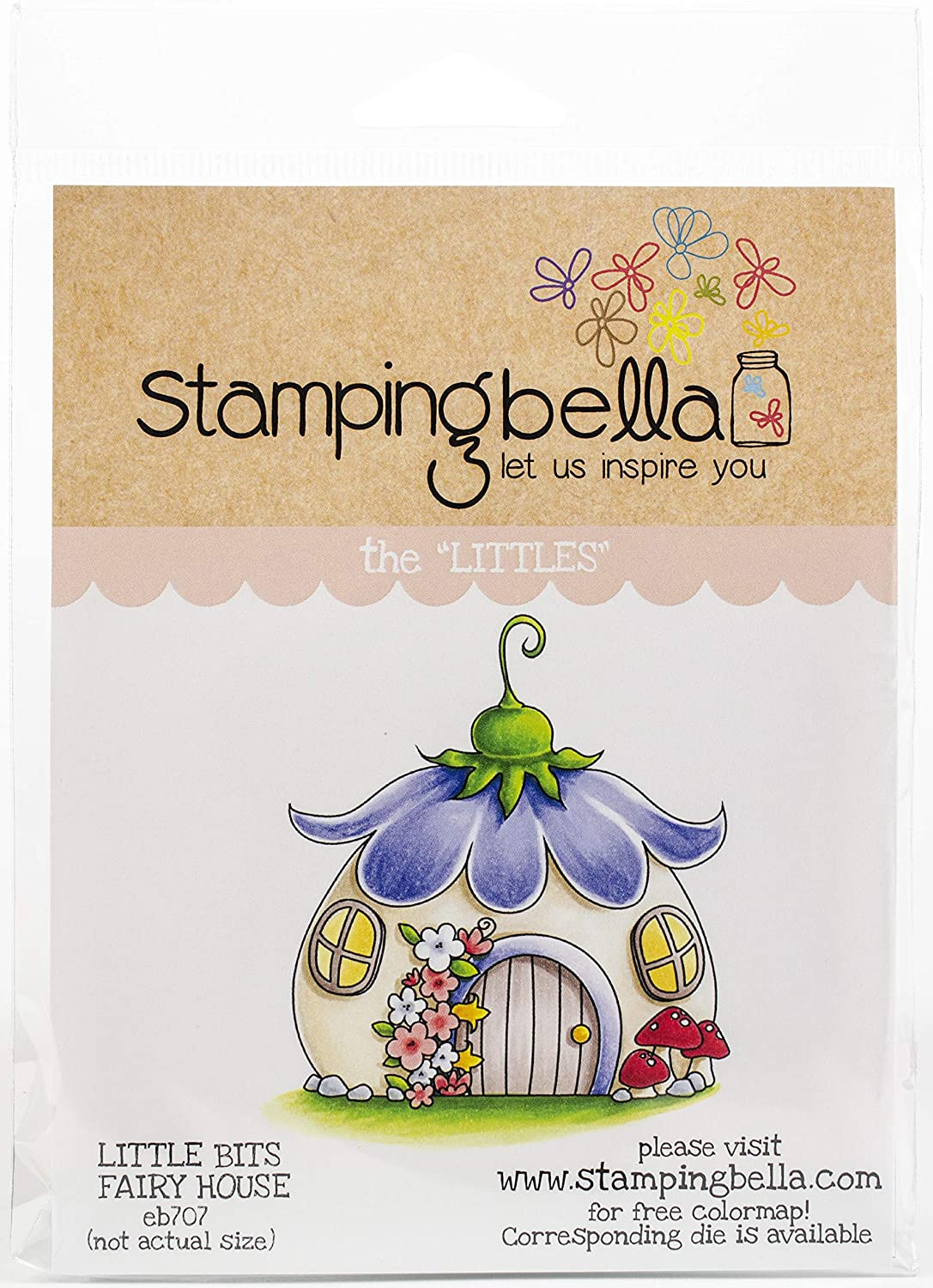 Stamping Bella Cling Stamps, Daisy Floral