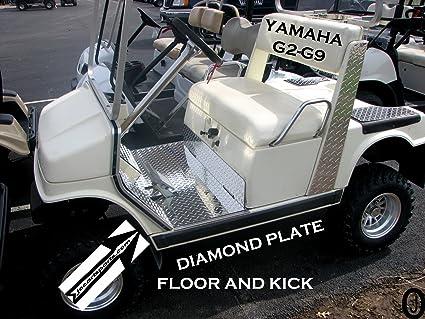 Amazon Com J O Carts Parts Yamaha G2 G9 Golf Cart Diamond Plate