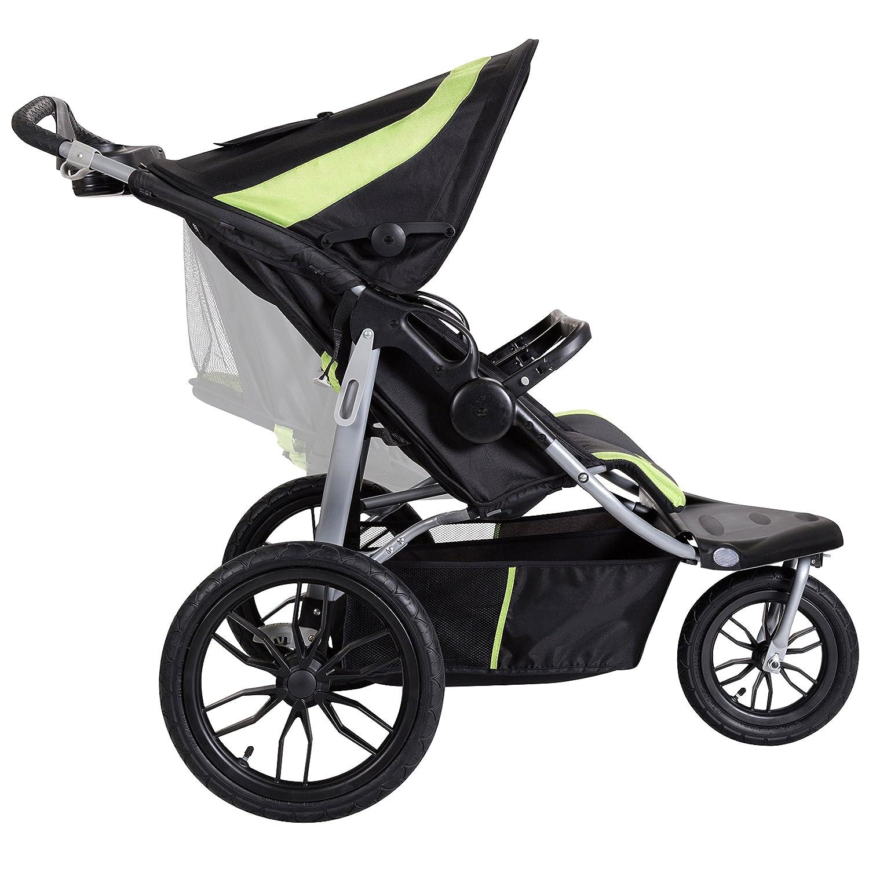 Europa Baby Trend Navigator Lite Double Jogger Stroller