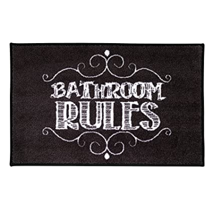 Elegant Chalk It Up Bathroom Decor