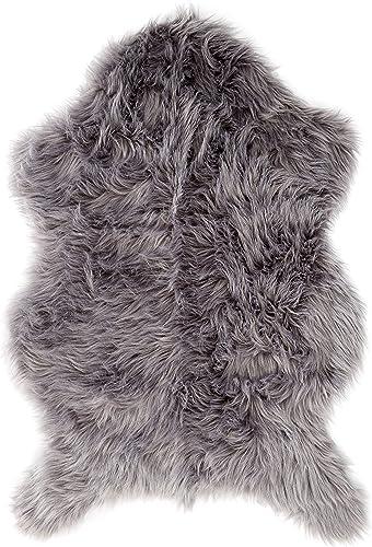 Delectable Garden Soft Faux Sheepskin Lamb Fur Chair Cover