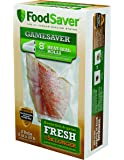 """FoodSaver GameSaver 2-Pack, 8"""" x 20' Long Heat-Seal Rolls"""