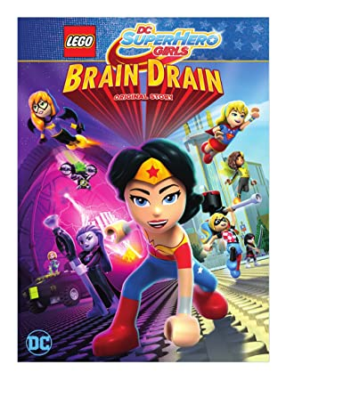 Picture of 5000240729 Lego DC SuperHero girls - Brain drain by artist Childrens