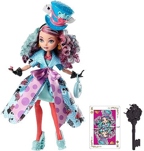 amazon com ever after high way too wonderland madeline hatter doll