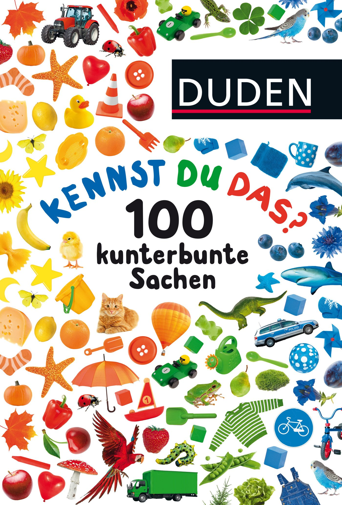 Kennst du das? 100 kunterbunte Sachen: ab 24 Monaten (DUDEN Pappbilderbücher Kennst Du das?)