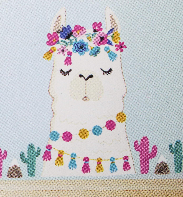 Amazon.com: Adhesivo decorativo para pared de salón Llama ...