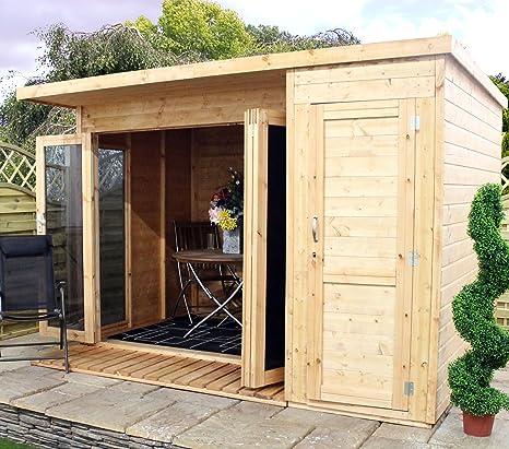 Combi Garden habitaciones con cobertizo