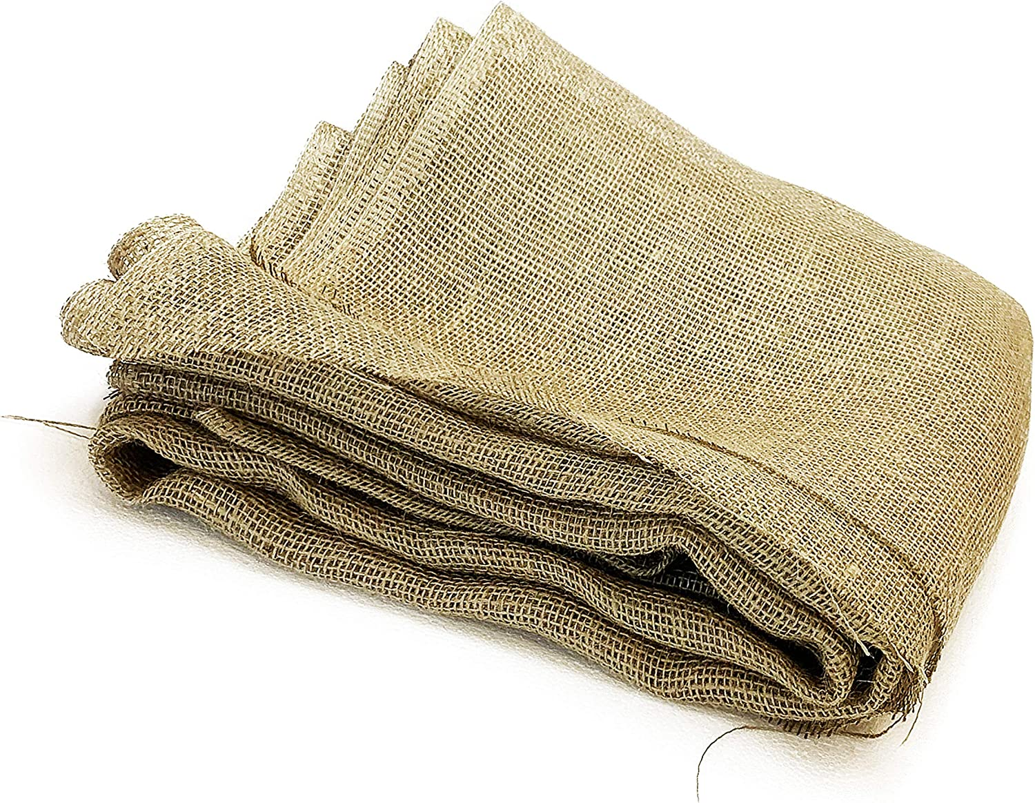 40 Inch X 15 Feet Gardening Burlap Liners, Loose Weave Jute-Burlap for Raised Bed, 50 Square-feet Seed Cover and Garden Blanket (40 Inch X 15 Feet, 40
