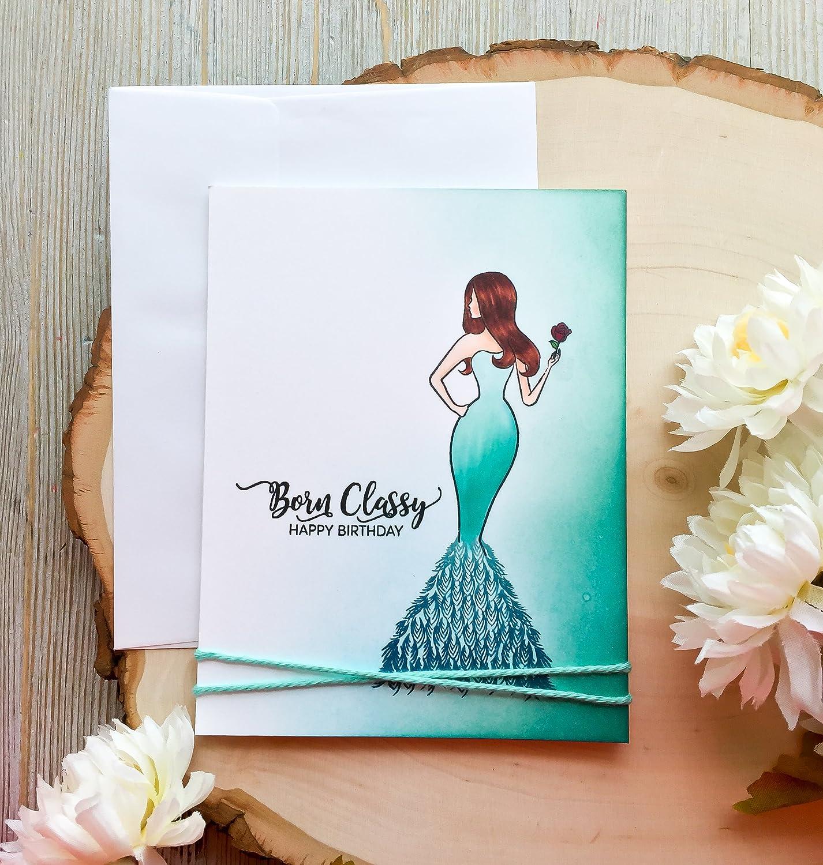 Amazon Com Handmade Birthday Card Girlfriend Birthday Card Best Friend Birthday Card Card For Her Birthday Card For Her Mom Sister Born Classy Handmade