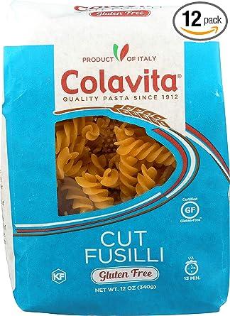 colavita sin gluten Pasta, 12 Onza (Pack de 12): Amazon.com ...