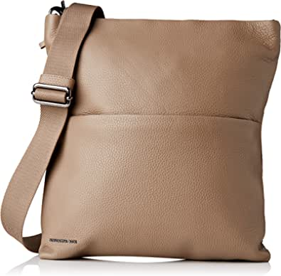 Mandarina Duck Mellow Leather Tracolla/Flame Scarlet, bolso bandolera para Mujer, 34.5x25x5.5 centimeters (W x H x L)