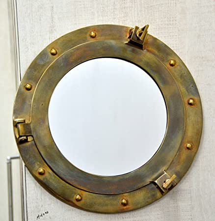 diy porthole how decor to nautical painting mirror hometalk wall