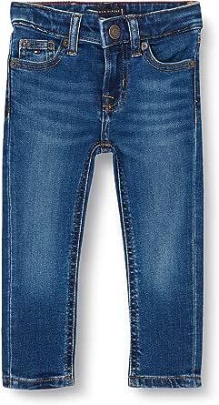 Tommy Hilfiger Scanton Slim-Mdbstr Pantalones para Bebés