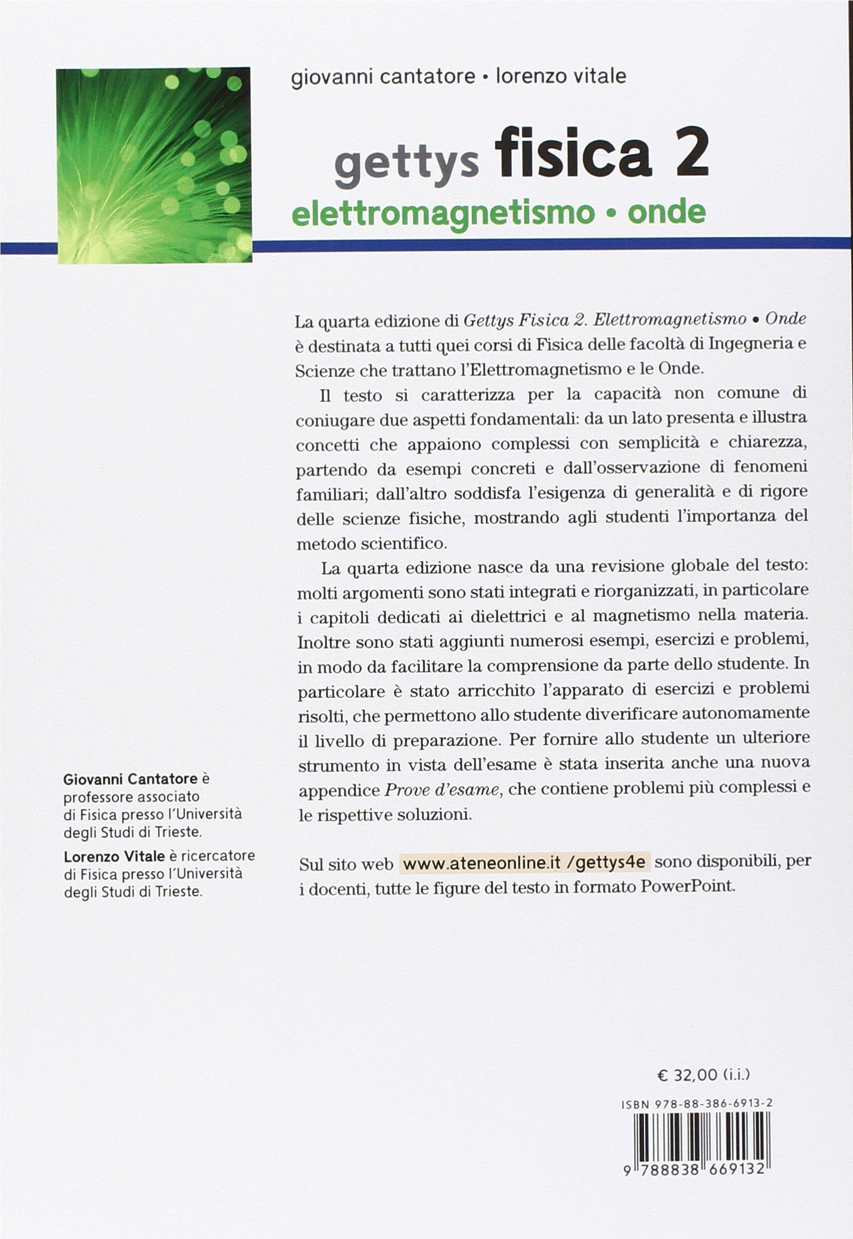 9c06e2d0c36 Amazon.it  Gettys fisica  2 - Giovanni Cantatore