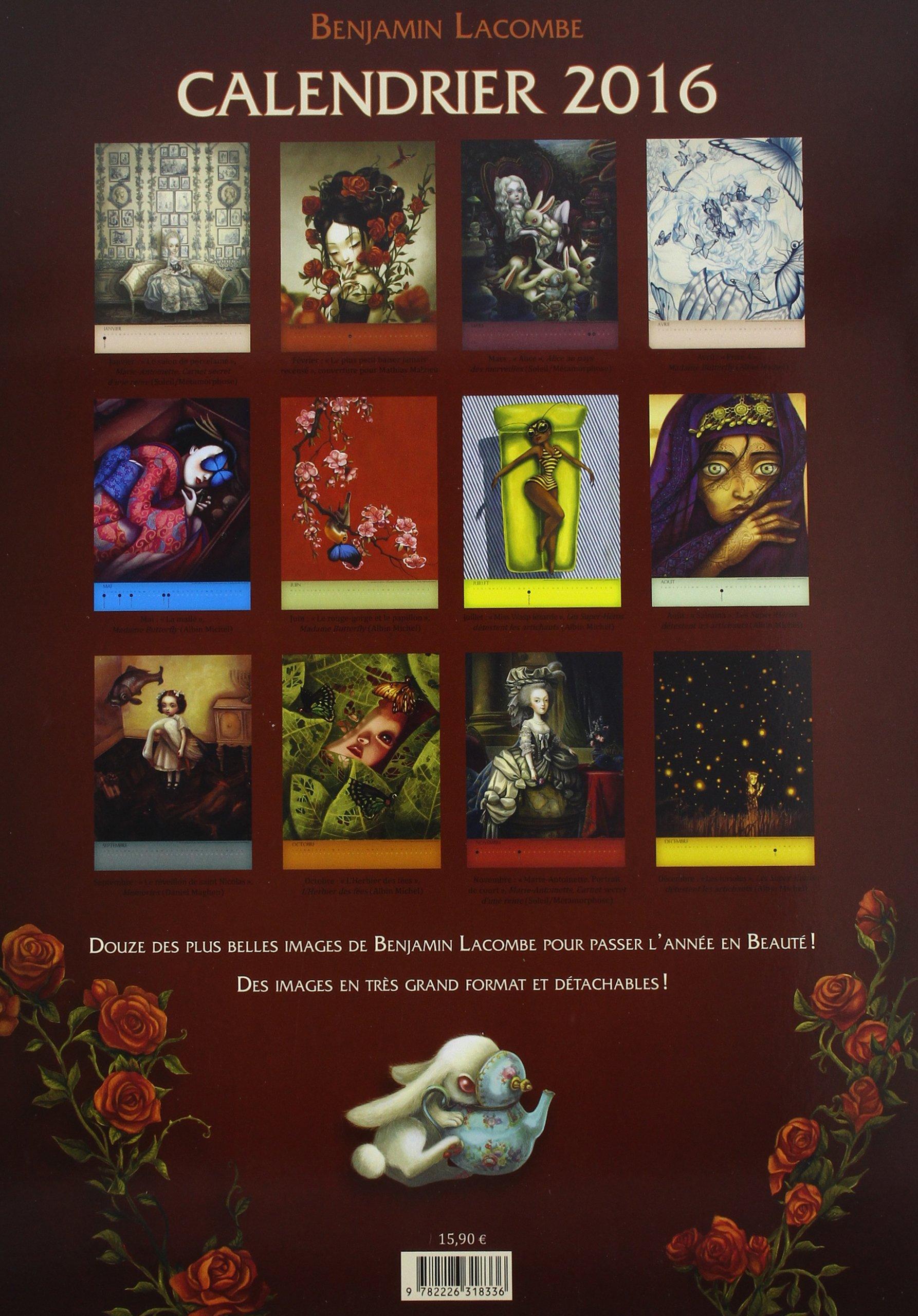 Le Calendrier 2016 (A.M. DIVERS): Amazon.es: Benjamin ...