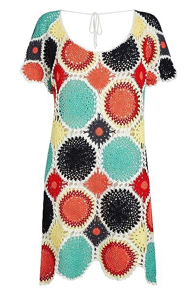 next Donna Caftano all Uncinetto  Amazon.it  Abbigliamento 2eeb11030229