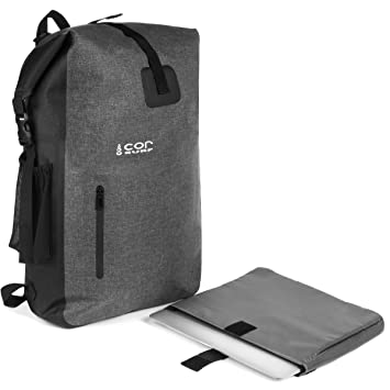 Waterproof Backpack - Ultralight 40L Dry Pack with Removable Laptop Sleeve  and Secret Passport Pocket by 5205c15974a0f