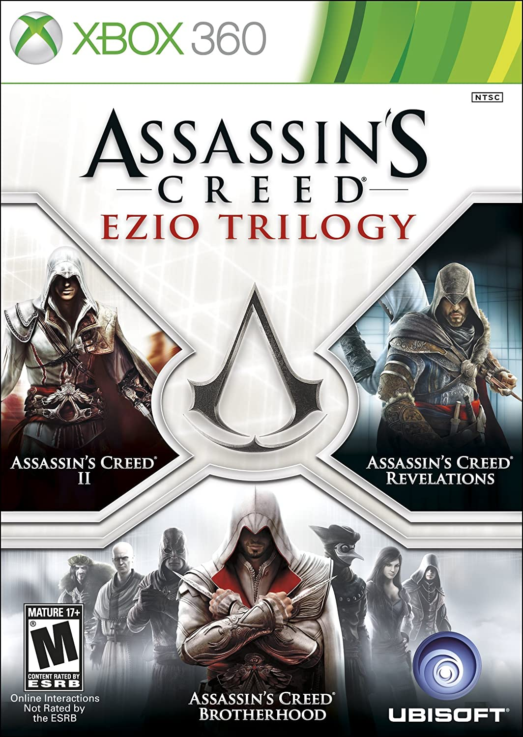 spesso Amazon.com: Assassin's Creed - Ezio Trilogy Edition xbox 360  JT46