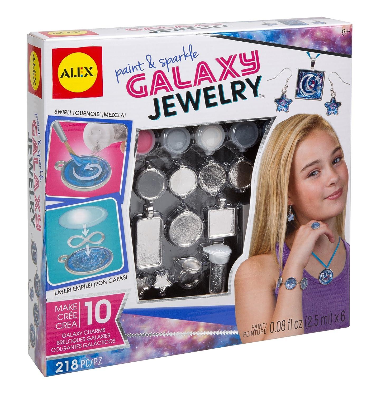 ALEX Toys DIY Wear Paint & Sparkle Galaxy Jewelry 611100-3