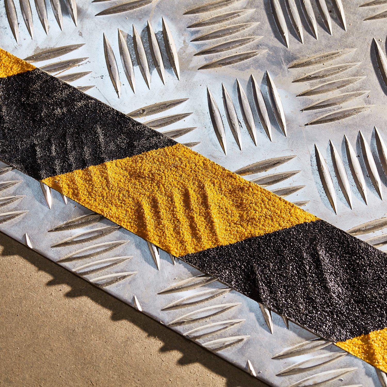 5cm x 3m, Gelb Stark Selbstklebend Antirutschband f/ür gemusterte und gehobene Oberfl/ächen NAC SAFETY Antirutsch Klebeband SELF-ADAPTIVE