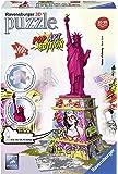 Ravensburger RAP125982 Puzzle 3D Statua della Libertà - Pop Art Edition, 108 Pezzi